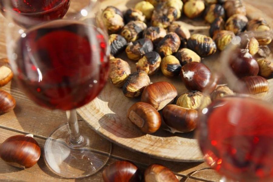 Vino rosso e castagne: Morellino di Scansano o Chianti dei Colli Senesi