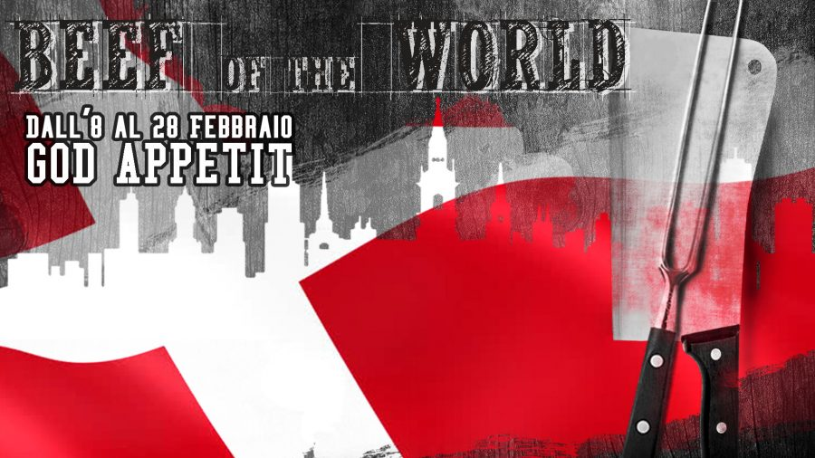 BEEF OF THE WORLD: A FEBBRAIO SI VOLA IN DANIMARCA