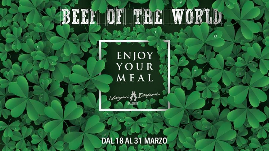 BEEF OF THE WORLD: A MARZO SI VOLA IN IRLANDA