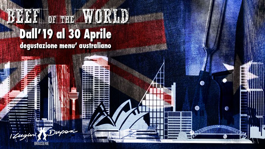BEEF OF THE WORLD: AD APRILE SI VOLA IN AUSTRALIA