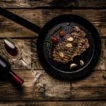 vino rosso e carne